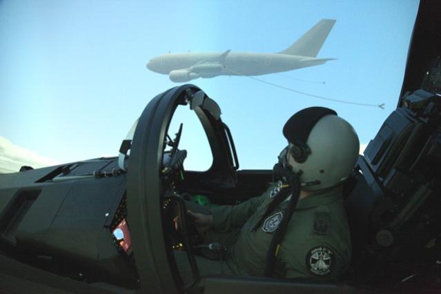 805-02 EF FMS Luftbetankung am Airbus A310