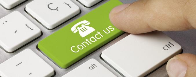 Contact us keyboard key 2. Finger